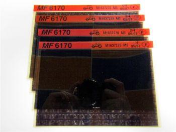 Massey Ferguson MF 6170 Schlepper Ersatzteillisten Parts List Microfiche 05/1997