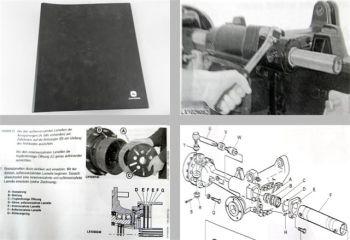 Original Werkstatthandbuch John Deere 740 745 750 Frontantriebsachen