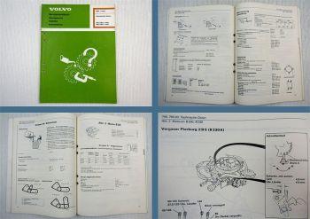 Werkstatthandbuch Volvo 740 760 ab 1982 / 1984 bis 1985 Technische Daten