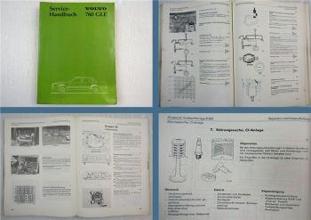 Reparaturanelitung Volvo 760 GLE 760GLE Werkstatthandbuch 1982