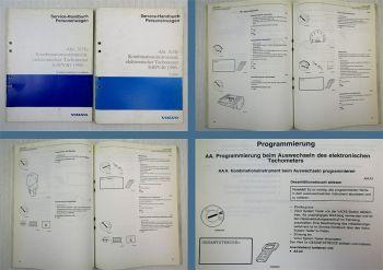 Werkstatthandbuch Volvo S40 V40 Kombinationsinstrument elektronischer Tachometer