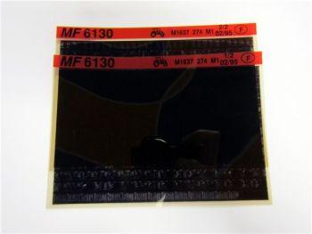 Massey Ferguson MF 6130 Schlepper Ersatzteilliste Microfich 02/1995