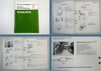 Volvo 340 ab 1976 Elektrik elektrische Anlage Werkstatthandbuch 1981