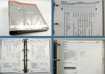 Werkstatthandbuch Audi 100 / A6 C4 1997 Stromlaufpläne Schaltpläne Elektrik