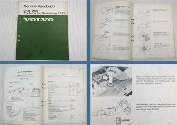 Volvo 242 244 245 264 265 1977 Technische Neuheiten Wartung Werkstatthandbuch