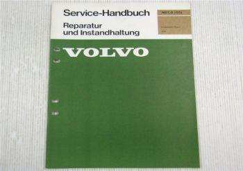 Volvo 264 DL / GL Technische Daten Werkstatthandbuch