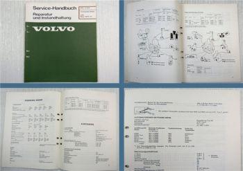 Volvo 242 244 245 1975 - 1977 Technische Daten Werkstatthandbuch