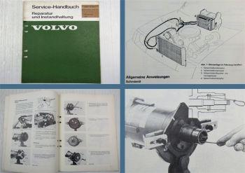 Volvo 260 Klimaanlage Werkstatthandbuch Reparaturanleitung 1976