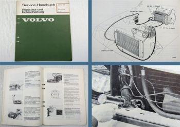 Volvo 240 Klimaanlage Werkstatthandbuch Reparaturanleitung 1977