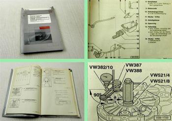 Werkstatthandbuch Audi A6 Quattro C5 4B 6 Gang Schaltgetriebe 01E DQT EDU