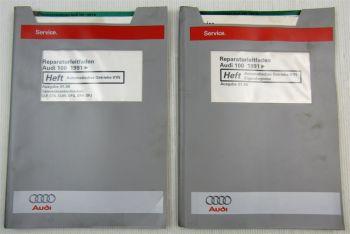 Audi 100 C4 Automatik Automatische Getriebe 01N Reparaturleitfaden Eigendiagnose