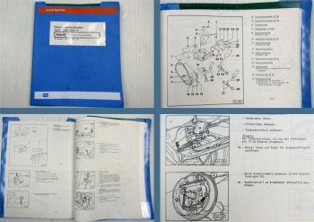 Werkstatthandbuch Audi 100 C4 Fahrwerk Frontantrieb ab 1991 Bremsen ABS Lenkung