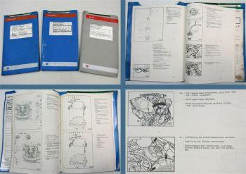 Reparaturanleitung Audi 100 C4 Werkstatthandbuch 2,8 V6 Einspritzmotor AAH