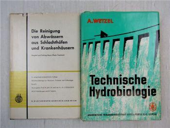 Technische Hydrobiologie, Reinigung v Abwässern aus Schlachthöfen Krankenhäusern