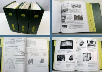 John Deere PIM Produktinformation Handbuch Traktoren Mähdrescher 1991-2001