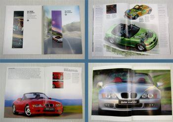 Prospekt BMW Z3 Roadster Beschreibung Technische Daten + Zubehör 1995