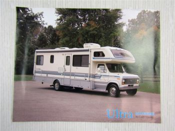 Ultra Supreme by Gulf Stream Prospekt Brochure Mini-Motorhome 11/1990