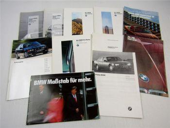 Posten BMW 3er Compact Touring 316 318 320 323i Preise Prospekte 80er 90er Jahre