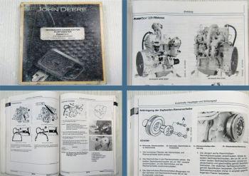 John Deere 2,9l 3029 Dieselmotor Werkstatthandbuch Reparaturanleitung 2001