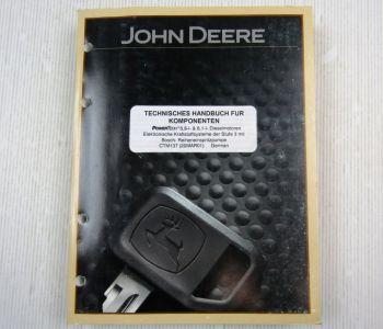 John Deere PowerTech Motor 6,8 + 8,1l Stufe 3 Kraftstoffsystem Werkstatthandbuch