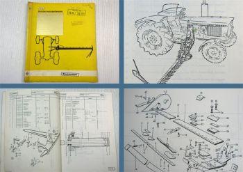 S&S Typ 55H 55HW Ersatzteilkatalog für John Deere 820 920 1020 1120 2020 2120