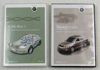 Selbststudienprogramme Skoda Octavia II und CAN-Bus I als CD-Rom 2004