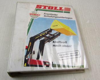 Stoll Frontlader Schulungsunterlagen Service Training Lehrgang 04/1998