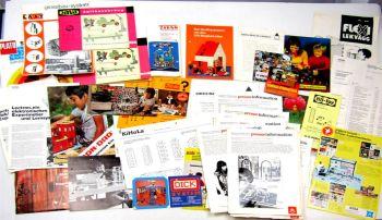 Konvolut Spielzeuge Flotti Dick Konstruktion Baukästen Pressefotos Informationen