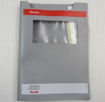 orig.  Audi Service Mappe leer für Reparaturleitfaden Reparaturanleitungen