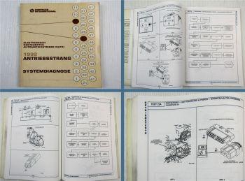 Chrysler Dodge 1992 Diagnose Automatisches Getriebe EATX Werkstatthandbuch