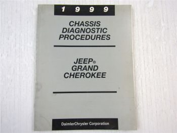 Chrysler Jeep Grand Cherokee ABS Teves Mark 20 Chassis Diagnostic 1999