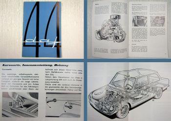 DAF 44 de Luxe und Kombi Betriebsanleitung Bedienungsanleitung 12/1967