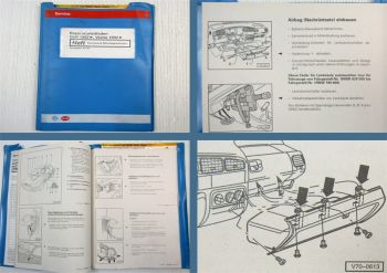 Reparaturleitfaden VW Golf 3 Vento Karosserie Montagearbeiten Werkstatthandbuch