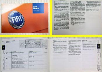Fiat Punto Autoradio CD istruzioni per luso 2006 italiano
