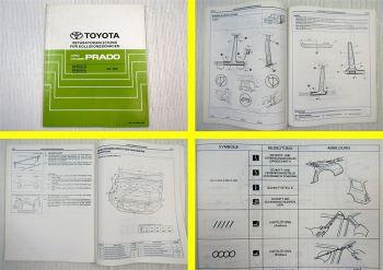 Toyota Land Cruiser Prado RZJ GRJ LJ 120 125 Werkstatthandbuch Karosserie 2002