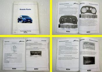 Fiat Grande Punto Schulungshandbuch Technisches Training 2005