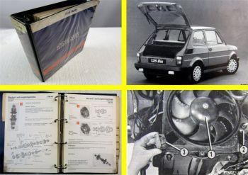 Fiat 126 BIS Werkstatthandbuch Reparaturanleitung 1987