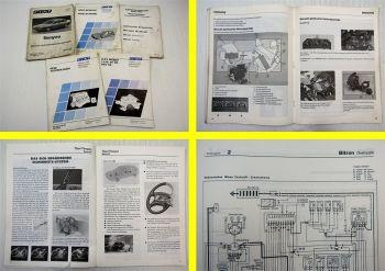 Fiat Tempra Fahrzeug Technik 16V 8V MPI Werkstatthandbücher 1990 / 1993