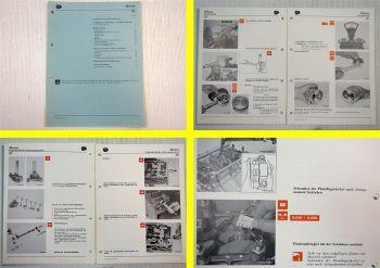 Werkstatthandbuch Lancia 2,9l 6V 2850 Motor Reparaturanleitung 1988
