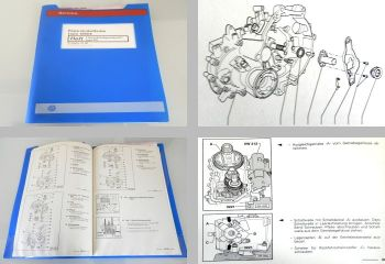 VW Lupo Typ 6X GTI 5 Gang Schaltgetriebe 02T FHE orig. Reparaturanleitung 2000