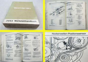 Werkstatthandbuch Hyundai Terracan Hauptbuch 2002 Reparaturanleitung