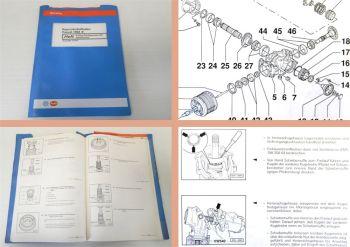 Reparaturleitfaden VW Passat B4 Typ 3A syncro Werkstatthandbuch Getriebe 02C
