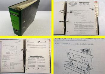 Lancia Zeta Z Kundendienstmitteilungen Werkstatthandbuch Reparatur 1994 - 2000