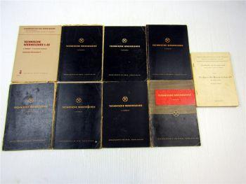 9x technische Wärmelehre für Studierende Fernstudium 1950er 1960er Jahre