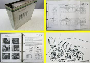 Deutz Fahr Agrocompact F60 70F3 70F4 F80 F90 Trattore Manuale d Officina 2000
