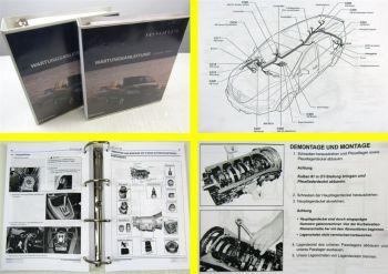 SSangYong Rodius Werkstatthandbuch Reparaturanleitung Wartung in 2 Bänden 2004
