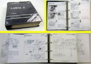 Werkstatthandbuch Lancia Z Zeta Elektrik Schaltplan Karosserie Reparaturhandbuch