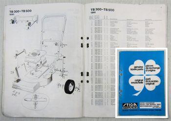Stiga Poular President Dino BA20 BB800 BE220 SB502 Ersatzteilliste Parts List