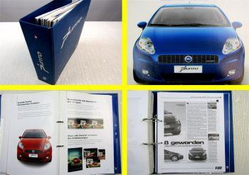 Fiat Punto Typ 199 Schulung Händerinformation Modellvorstellung 2005
