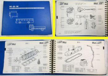 Büssing MAN 5.85F 7.85F 6.90F 7.90F Saviem SG5 SG5C Ersatzteilliste Parts List